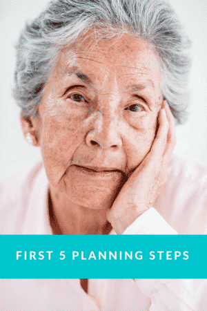 Get Your First 5 Planning Steps Checklist Now