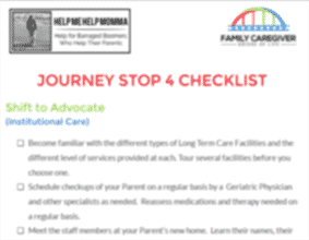 Journey Stop 4 Checklist