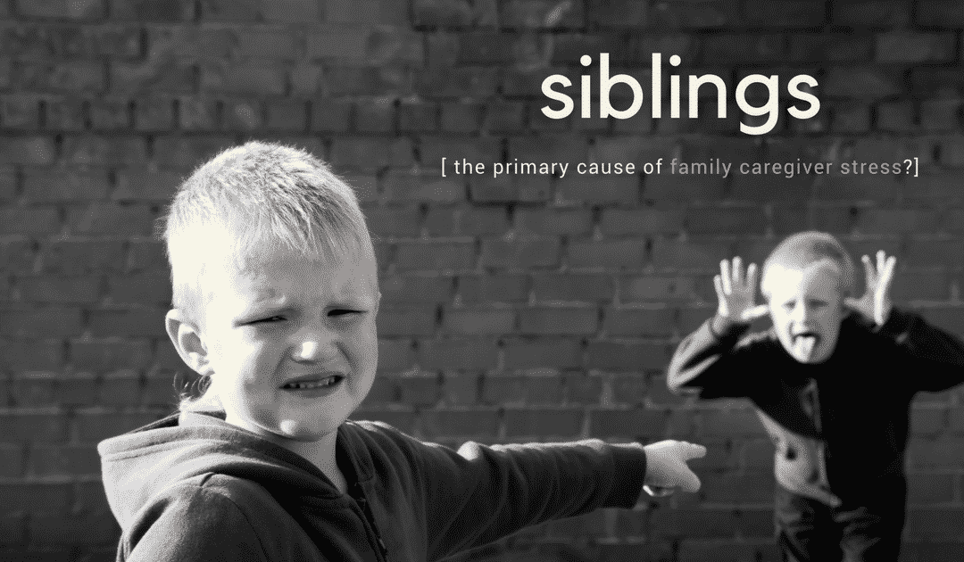 Siblings – The Primary Cause of Family Caregiver Stress?